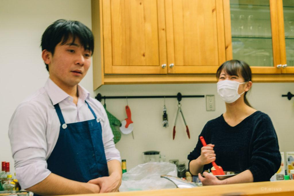 近畿大学生の1日店長 in Olu Olu cafe