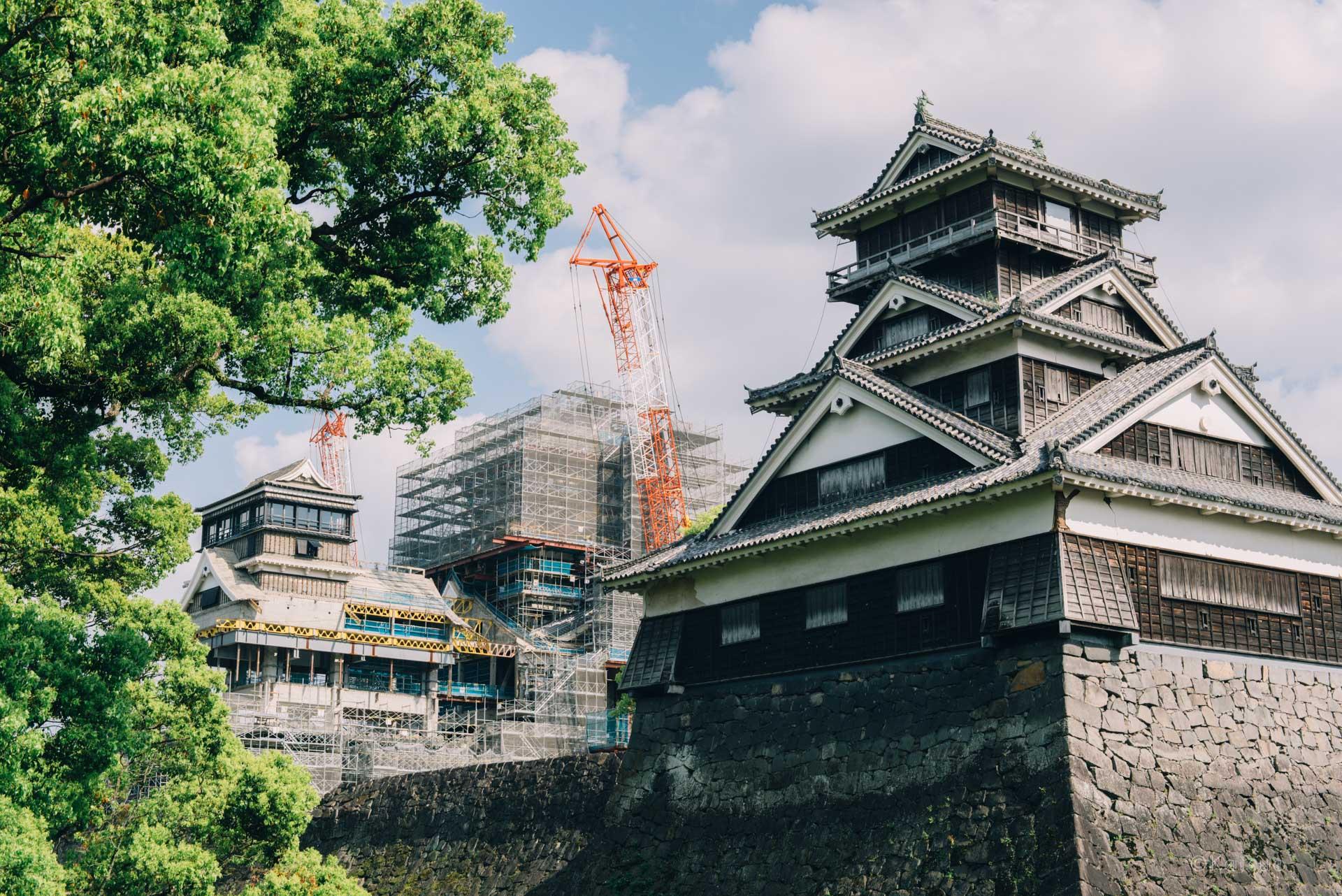 熊本城を見て感じたこと。【日本一周20日目2018.04.15(No.18熊本県熊本市)】