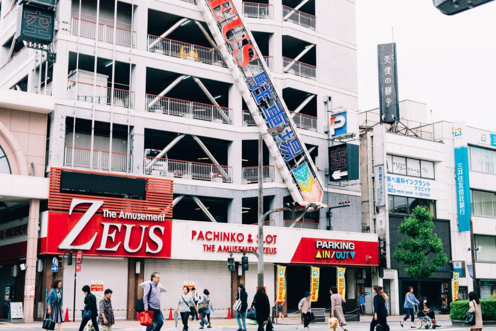 大分市内散策。【日本一周57日目2018.05.22(大分県)】