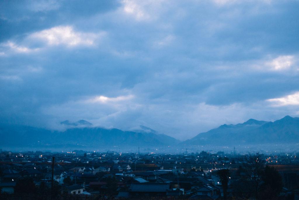 山梨県、甲府盆地の美しさを感じて進む。【日本一周249日目11.29】