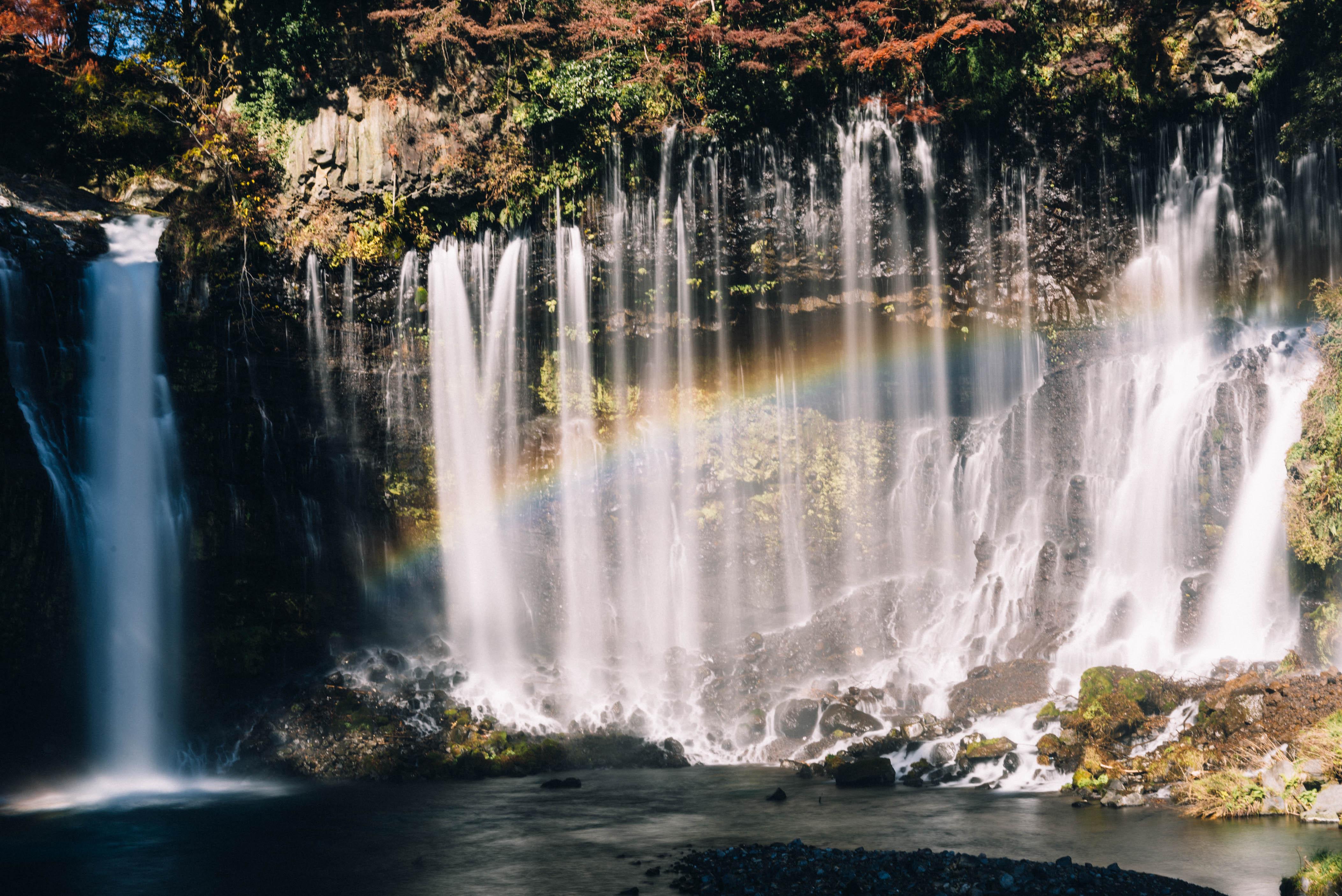 涅槃の階段に日本一の滝、美しい富士の麓。【日本一周250日目11.30】