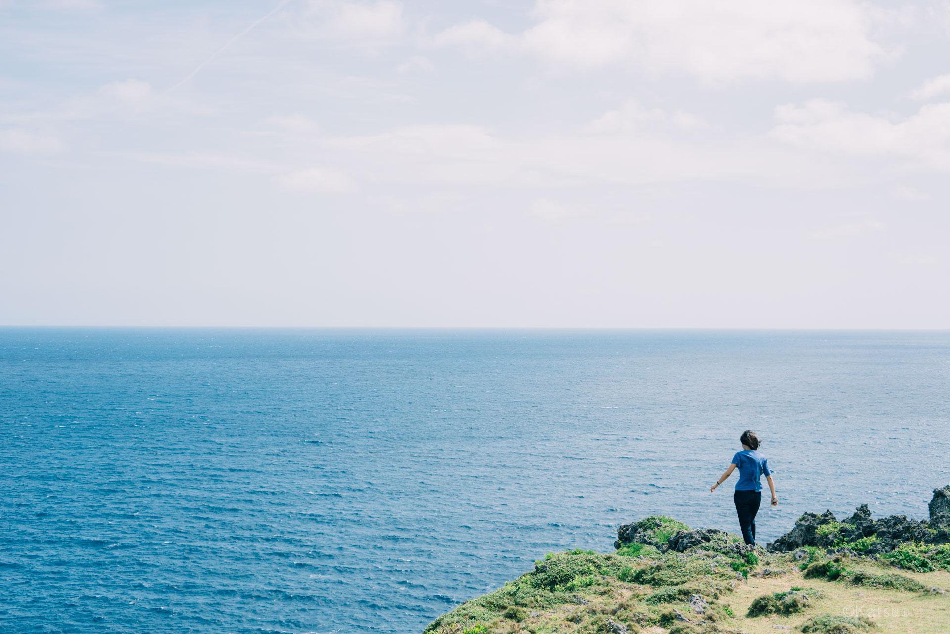 島にいる先輩と。【日本一周26日目2018.04.21(沖永良部島)】