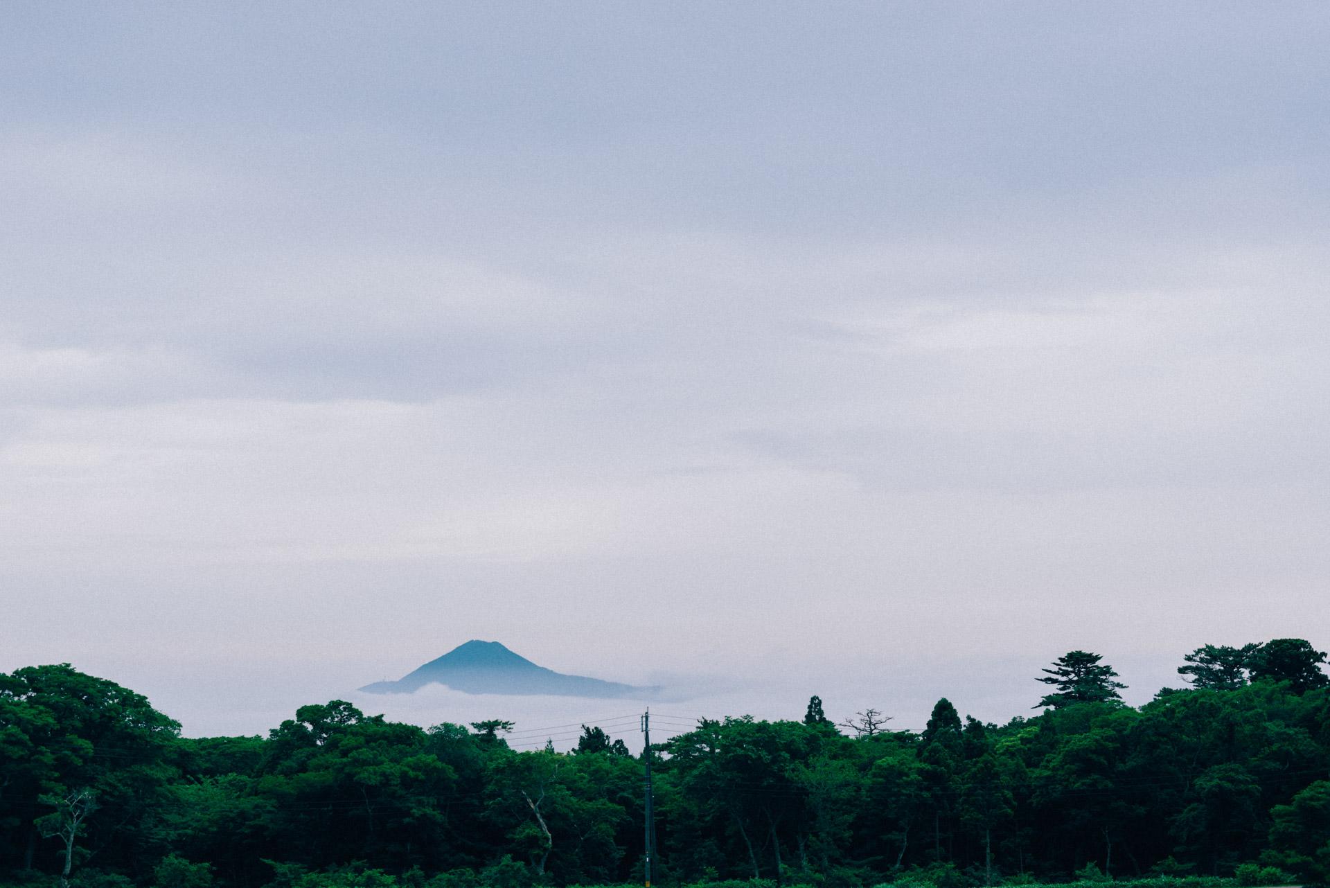 中国最高峰、大山の麓で。【日本一周76日目2018.06.10(No.206)】