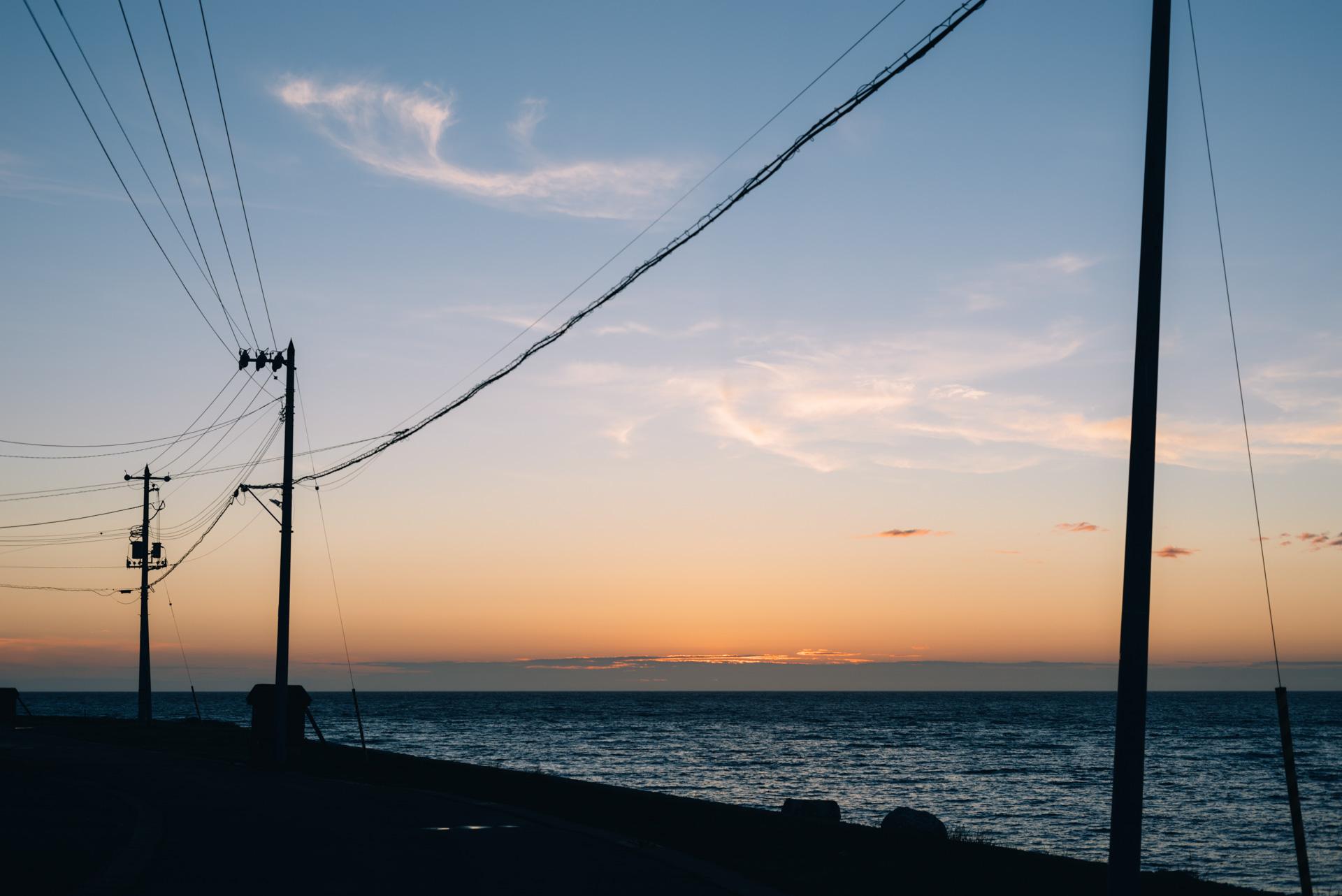 オロロンラインに出るまで。【日本一周88日目2018.06.22北海道編】