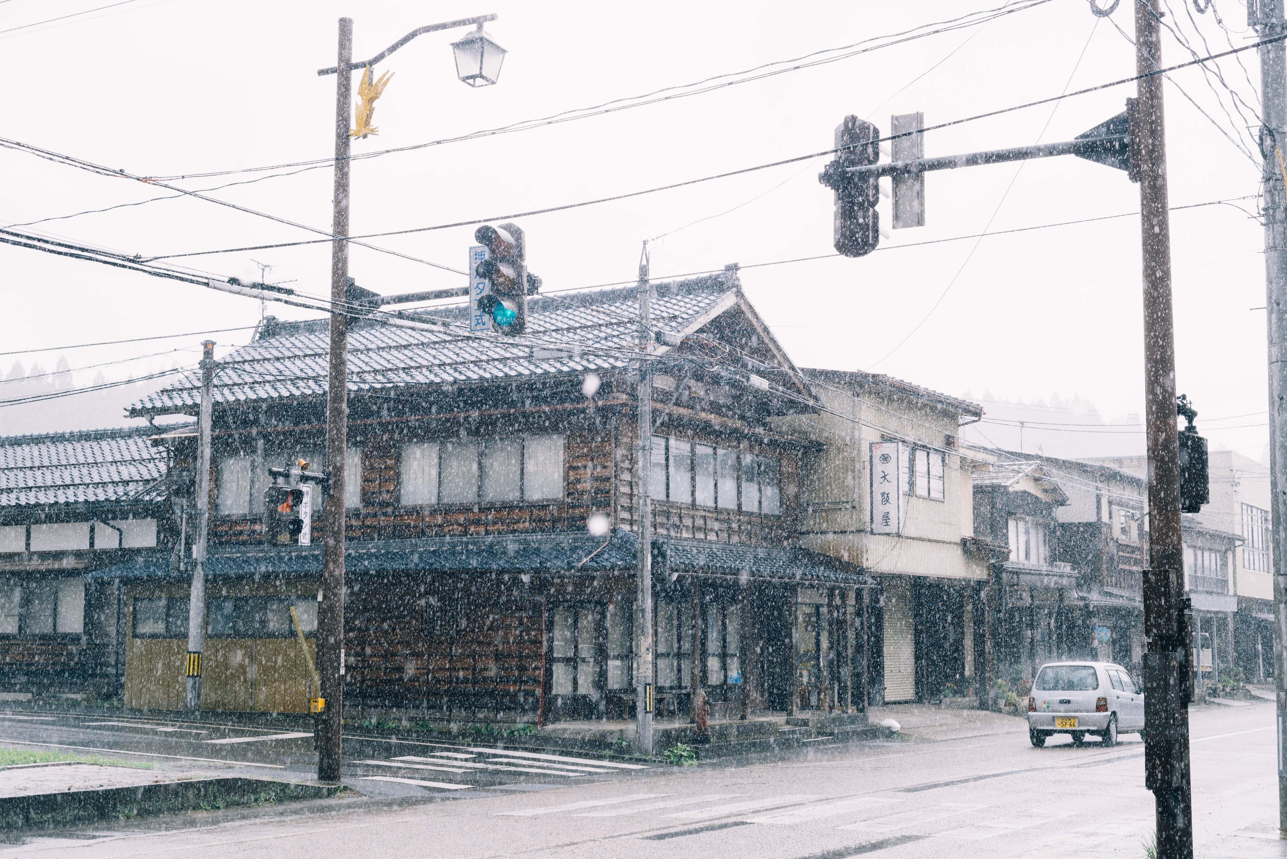 晴れれば大雨、狐の嫁入り。【日本一周154日目08.29】