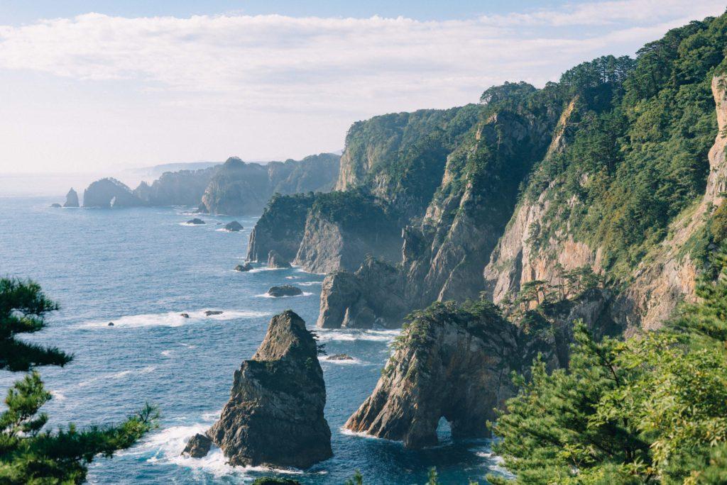 美しい三陸海岸に魅せられて、龍泉洞で地底の神秘を浴びる。【日本一周170日目09.14】