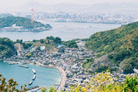 山奥と海の見える街。【広島県】
