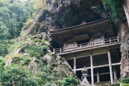 【市町村一周の旅】鳥取県八頭郡、宿場町や不思議な投入堂。