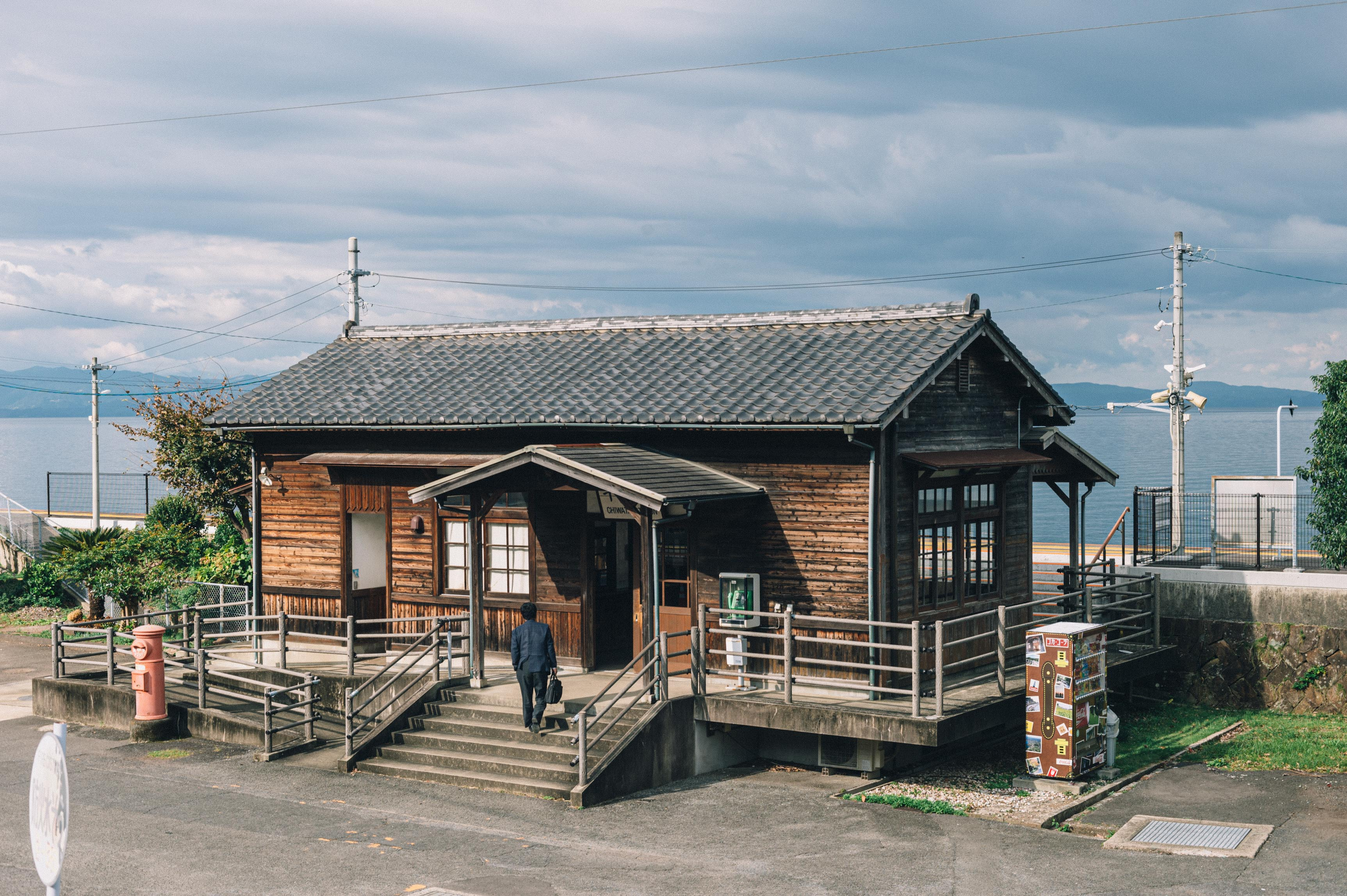 長崎県も最終日、大村湾に沿って進む。【市町村一周の旅】