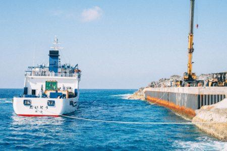 絶海の孤島その二は「北大東島」。鉱山遺跡と貴重な船の入港風景。【市町村一周の旅】