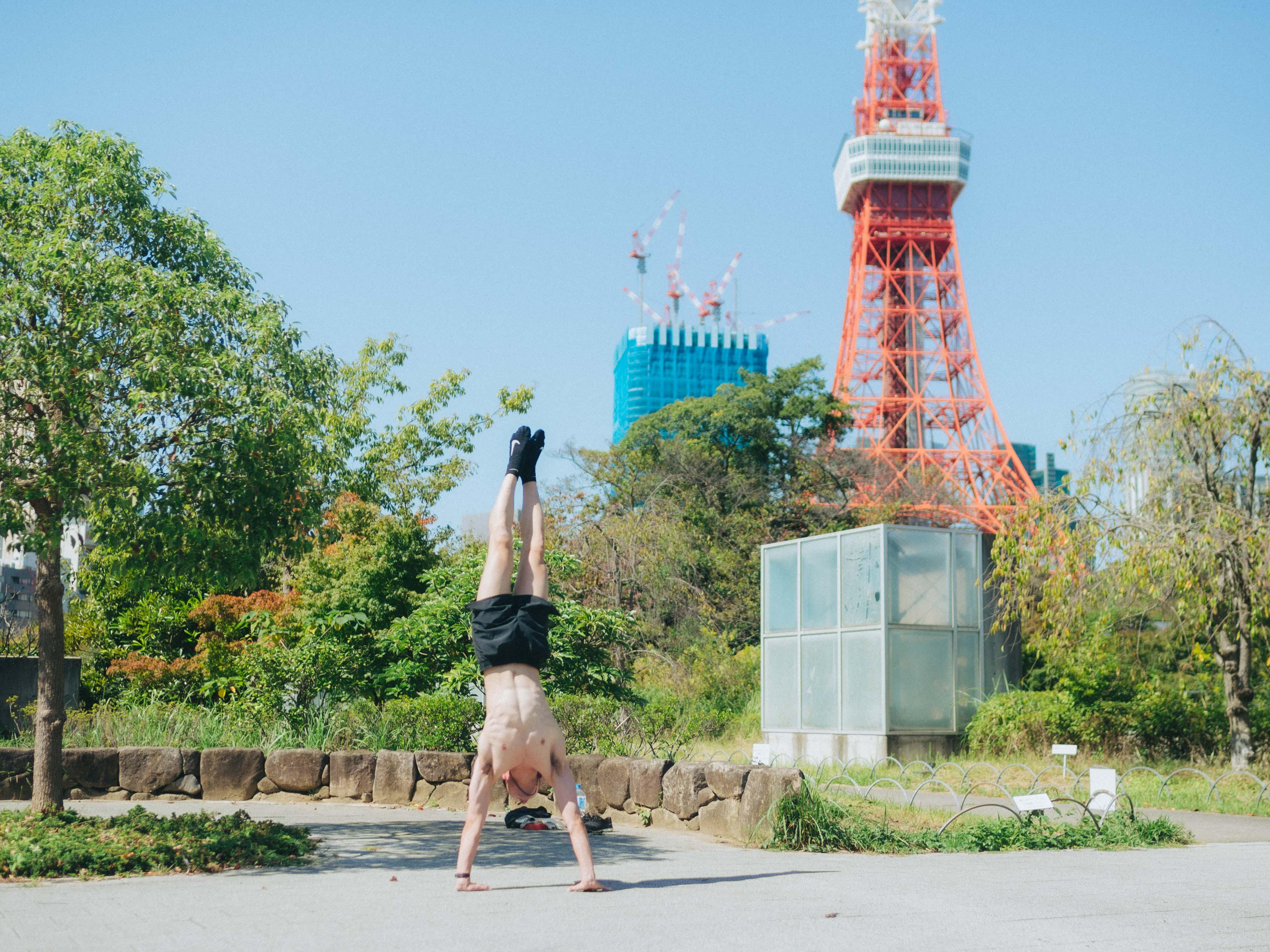 東京タワーをぐるっと。【23区駅一周 2021年10月2日その③】